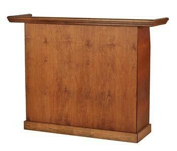 English Chestnut Wood Folding Bar 5'