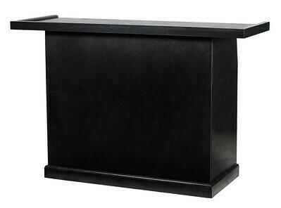 Black Wood Folding Bar 5'