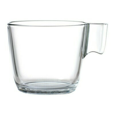 Glass Mug 10 Oz. - Rack of 16 Glasses