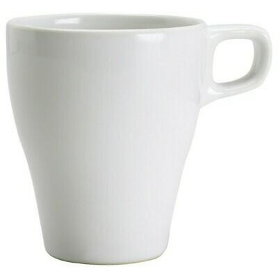 White Coupe Mug 8 Oz. - Rack of 16