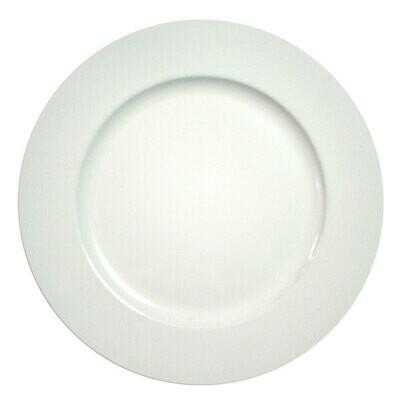 White Beaded Melamine Charger