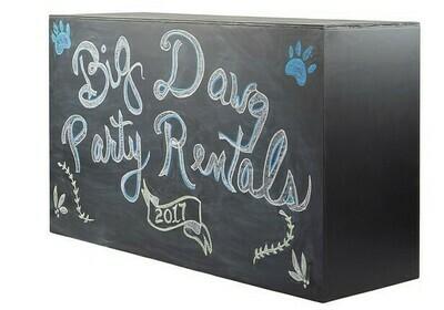 Chalk Board Bar