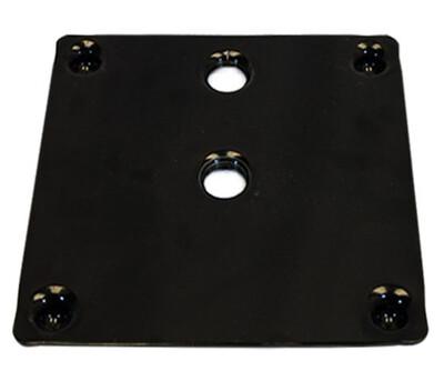 Metal Upright Screw In Base Black 15