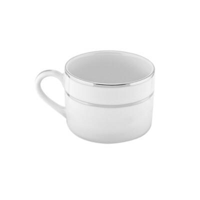 Silver Band Mug 6 Oz. - Rack of 16