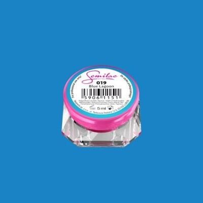 019 UV GEL COLOR SEMILAC BLUE LAGOON 5ML