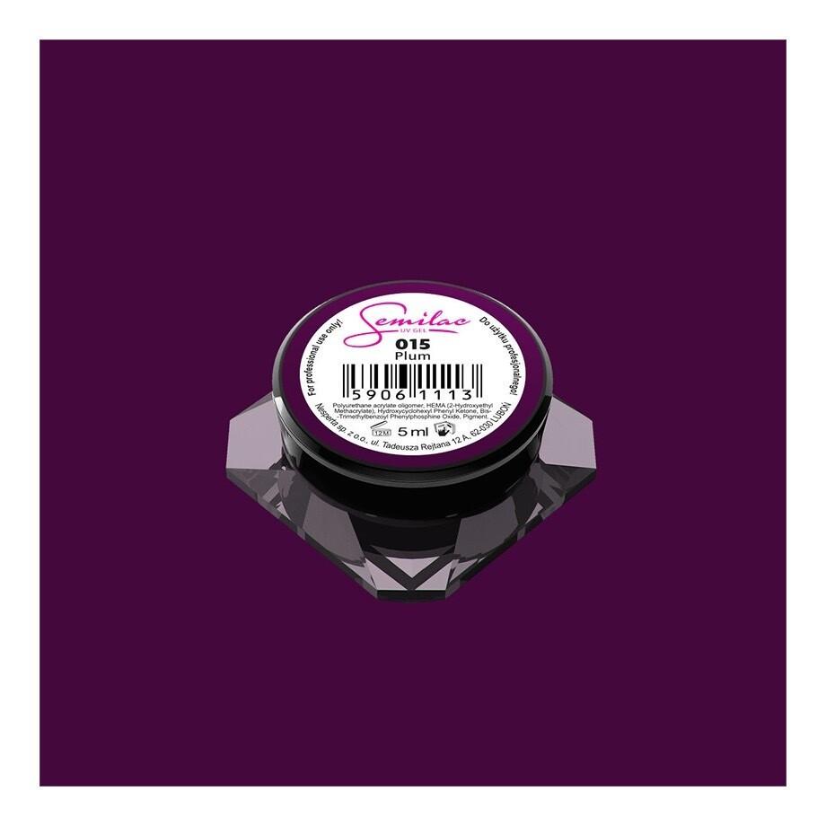 015 UV GEL COLOR PLUM 5ML