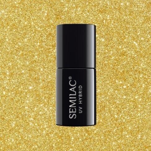 261 SEMILAC SEMIPERMANENTE PLATINUM YELLOW GOLD