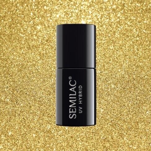 619 Semilac Sharm effect Gold