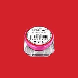 597 SEMILAC SCULPTURE GEL 4D RED 5 G