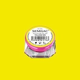 595 SEMILAC SCULPTURE GEL 4D YELLOW 5 G