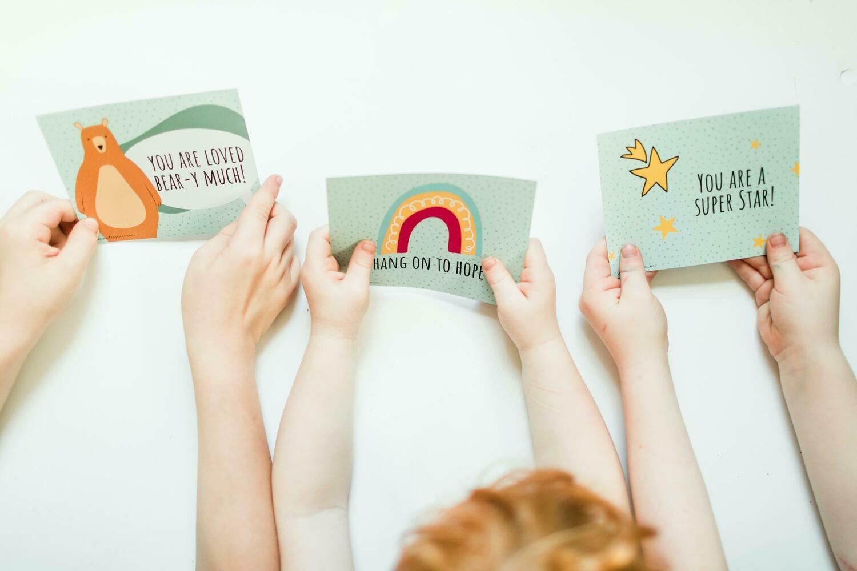 Postcards- Set of 3 designs