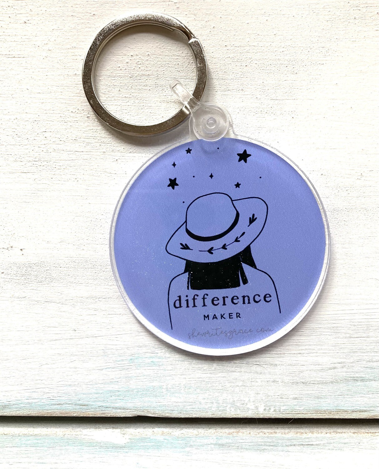 Difference Maker Keychain