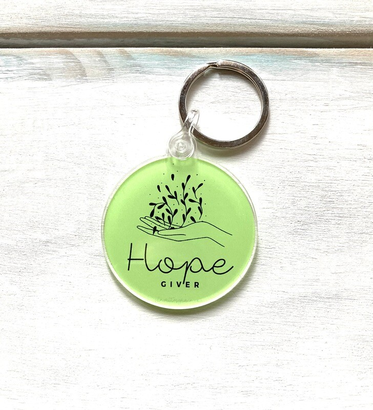 Hope Giver Keychain
