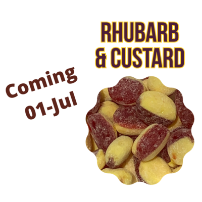 Rhubarb & Custard, 155g