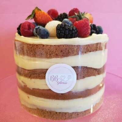 Petits Fruits & Brigadeiro Blanc / Berry & White brigadeiro