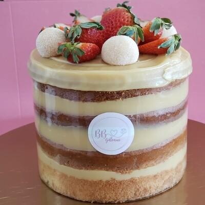 Fraise & Brigadeiro Blanc / Strawberry & White brigadeiro