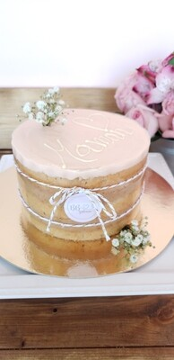 """Mother's Day Cake (6"""" 10 tranches / 10 slices)"""