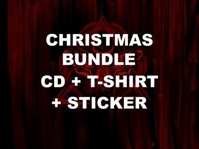 CHRISTMAS BUNDLE - CD+T-SHIRT+STICKER