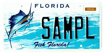Fish Florida Specialty License Plate