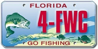 Go Fishing Florida Specialty License Plate