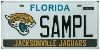 Jacksonville Jaguars Florida Specialty License Plate
