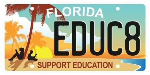 Support Education Florida Specialty License Plate