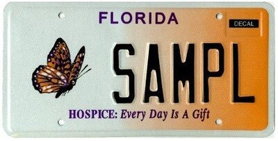Hospice Florida Specialty License Plate