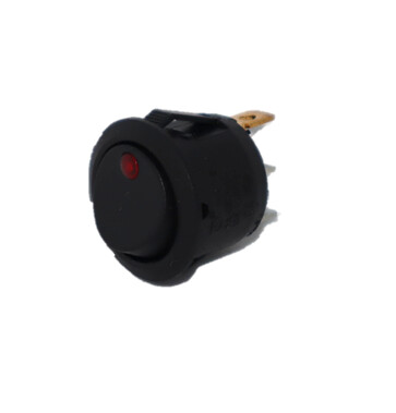 Rocker Switch w/red LED