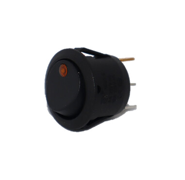 Rocker Switch w/amber LED