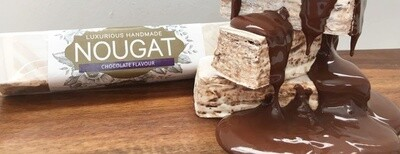 Dark Chocolate Nougat Bar