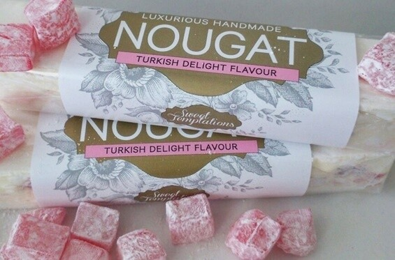 Turkish Delight Nougat Bar