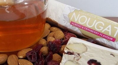 Almond & Cranberry Nougat Bar