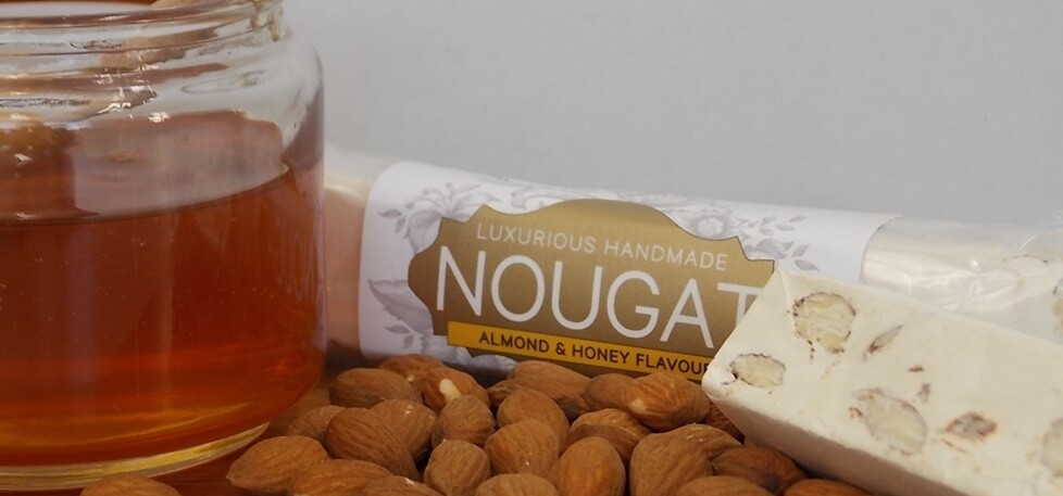 Almond & Honey Nougat Bar