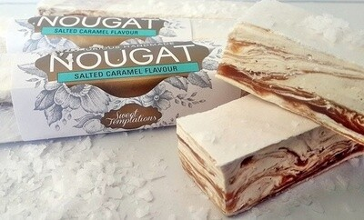 Salted Caramel Nougat Bar