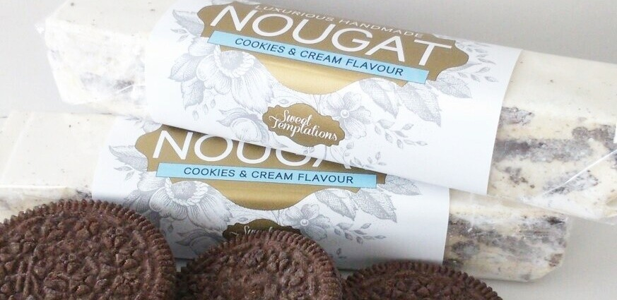 Cookies and Cream Nougat Bar