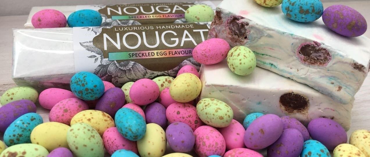 Speckled Egg Nougat Bar