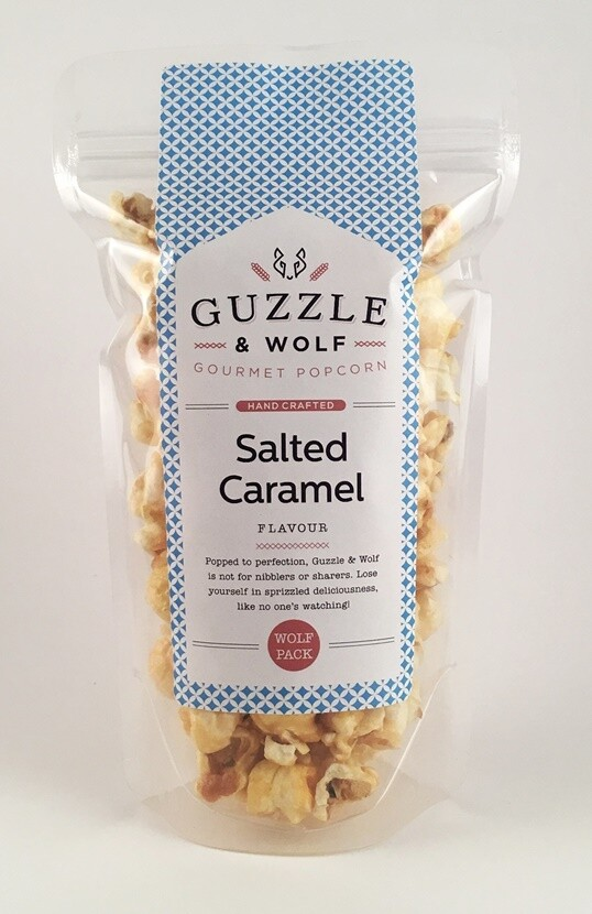 Salted Caramel Popcorn 90g Wolf Pack