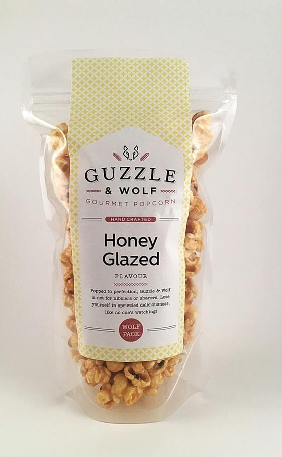 Honey Glazed Popcorn