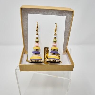 Earrings, Layered Jhumki
