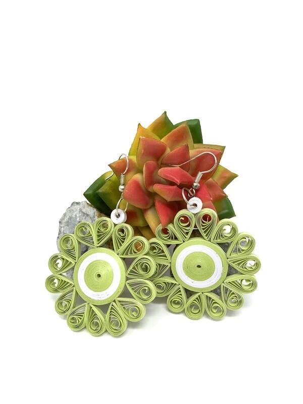 Earrings, Floret