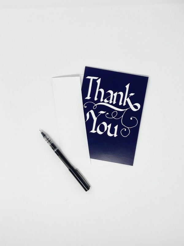 Endure Manuscripts Thank You Card