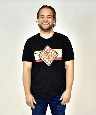 Men's Black Diamond Tartan T-shirt