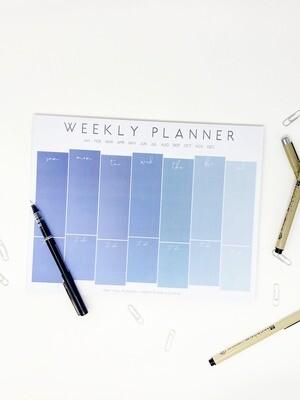 Linda Tong Weekly Planner Notepad