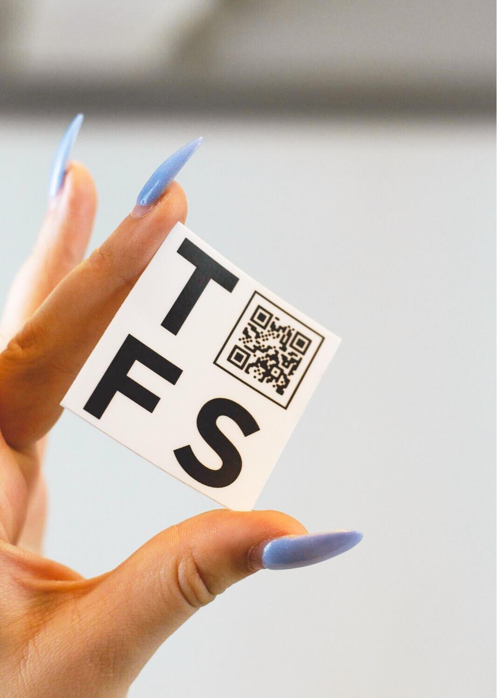 TFS QR Sticker
