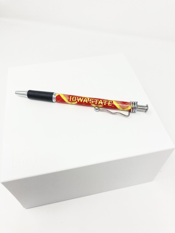 Tartan Swizzle Pen