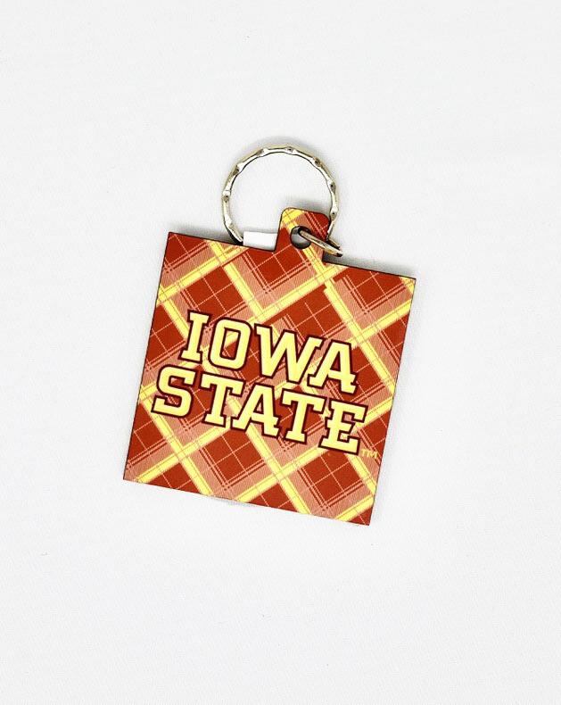 """7"""" Tartan Key Tag"""