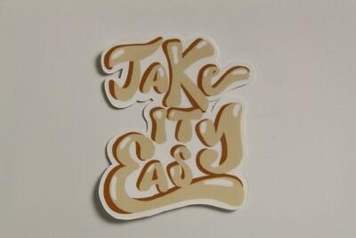Take It Easy Sticker