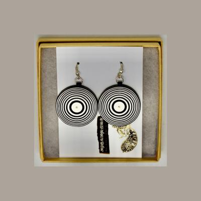 Earrings, Mesmerized Buttons