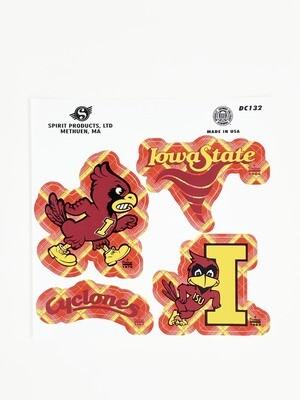Cyclone Tartan Sticker