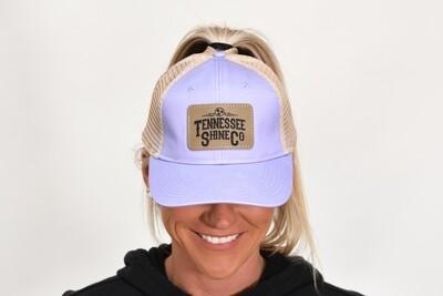 TSC Ponytail Hat Purple